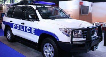 V�hicules de police